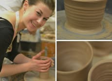 Experience pottery-making and tour a historical pottery town