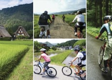 Walk or cycle around Takayama on a day tour from Nagoya