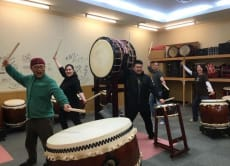 Discover traditional Japanese drum with a mini show, Fukuoka