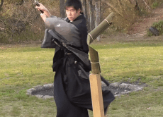 Experience Samurai Sword Play and See Ancient Temples, Osaka