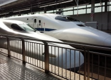 See the high-speed Shinkansen and eat Tempura in Osaka