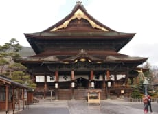 Visit Zenkoji Temple & Experience Zazen or Make Crafts