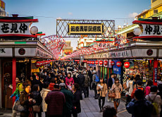 Take a Private Walking Tour, in Asakusa!