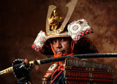 Dress up like a samurai warrior and take photos in Summer!