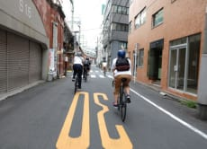 Cycle around Tokyo's streets and craft shops