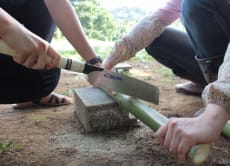 Make a Bamboo Flute in a Japanese Farm