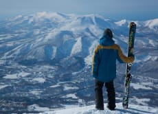 Enjoy a Niseko Backcountry ski & snowboard tour