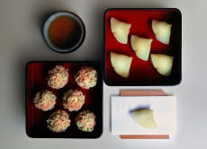 Make Japanese traditional seasonal confectionery in Kyoto