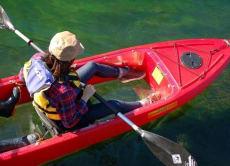 Clear Kayak Tour in Lake Shikotsu from Sapporo, Hokkaido!