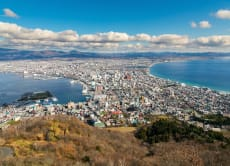 See the beauty of the international harbor town Hakodate