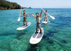 Try a Stand Up Paddle adventure in Okinawa!