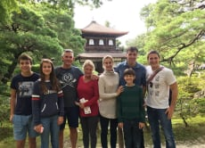 Family Fun in Kyoto for a day!
