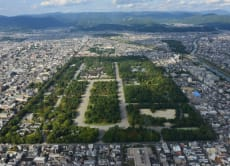 Kyoto sky cruising: Helicopter tour over Kyoto