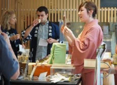 Nihonbashi Gourmet Tasting Tour with Sushi Cooking Class