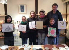 Japanese painting/ Sumie/ Calligraphy Art Workshop in Kyoto