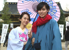Couple Kimono dressing and rental plan in Kanazawa