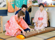 Enjoy Koto and Sanshin lessons & tea ceremony experience!