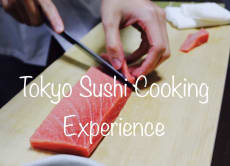 Tokyo Sushi Cooking Experience with a Sushi Chef