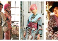 Take a free-style kimono dressing lesson in Tokyo