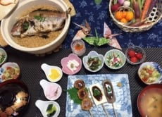 Enjoy Japanese home made cooking in Nara