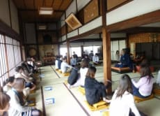 Try Zen meditation at Choanji Temple with Japanese sweets
