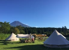 Join a 3-day Glamping at Mt. Fuji!