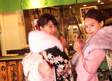 Tour Asakusa in a kimono and have a high-class sushi dinner!