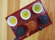 Create your original Japanese green tea (Sencha) blend