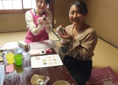 Make Pretty Rolled Sushi pieces in Kyoto!
