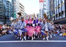 Dance in the Awa-Odori Festival in Koenji Tokyo (Aug 26, 27)