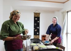 Private Tea Ceremony in Kimono & Cooking Class, Hiroshima