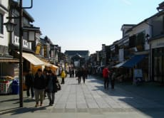 Zenkoji Temple & Nakamise Shopping street by local train