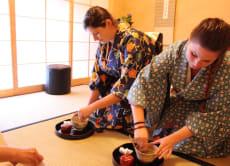 Have a Private tea ceremony in Kimono, Hiroshima