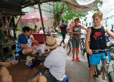 See the sights and sounds of Bangkok on a bike