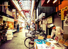 Explore Osaka's Kuromon Market on a Food Tour