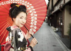 Kyoto Experience: Kimono Try-on and Geisha Make Up