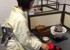 Enjoy Tea Box Style of Tea Ceremony in Fukuoka!