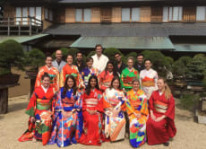 Wear a Kimono at a traditional house in the Bonsai Museum