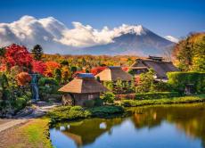 4-day Mount Fuji tour from Hakone Onsen and Oshino Village