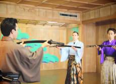 Enjoy Samurai Kembu (Sword Performance) in Tokyo