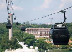 30% OFF Cable Car Singapore Faber-Sentosa Instant E-Ticket