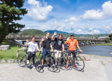 Kyoto Hidden Cycling Tour with the Road Bikes