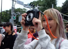 Harajuku Walking Tour with the Latest Instax (Cheki) Camera