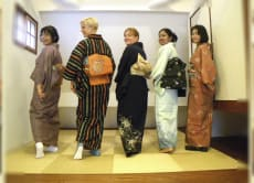Learn to Wear a Traditional Kimono in Meguro, Tokyo