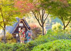 Wear Kimono & Enjoy Tea Ceremony at Gero Onsen Gassho-mura