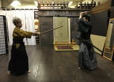 "Try a 60-minute Swordfight ""Kata"" Workout - Beginners Level"