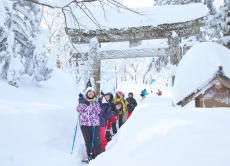 Snowshoe Trekking Tour on Mt. Daisen in Tottori Japan