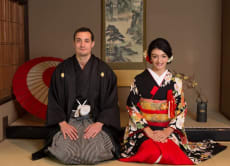 Kyoto Pre Wedding, Post Wedding Photos in Old Japanese House