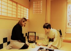 Learn Japanese tea ceremony with photo shooting in Ginza!