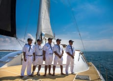 Bali Full Day Private Luxury Yacht Charter for 35 People